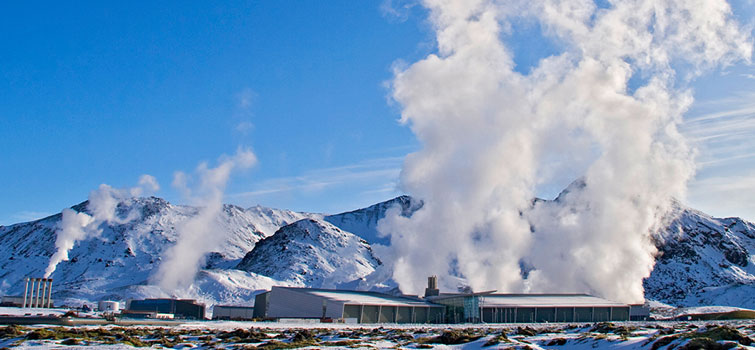 Geothermal plan Hellisheidi